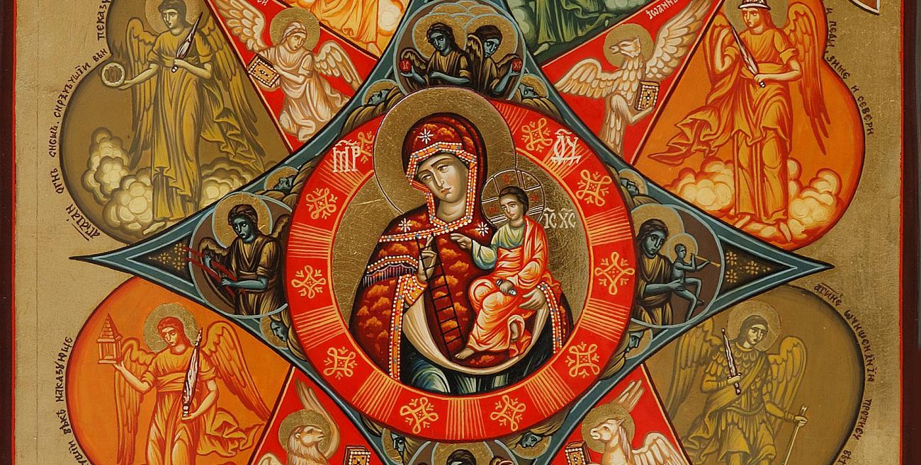 Рисувани Православни икони