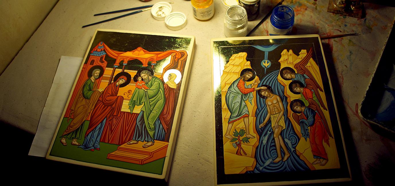 Поръчка на рисувани икони