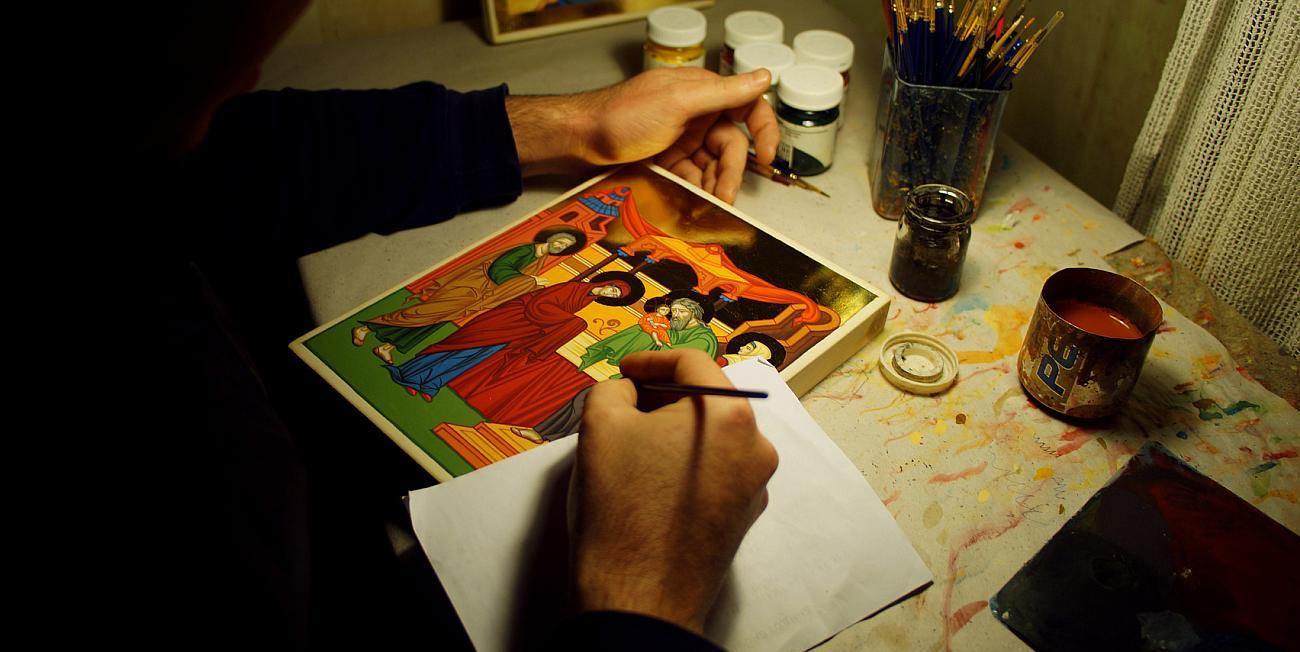 Рисуване на икони
